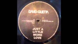 Repeat youtube video David Guetta Feat. Chris Willis - Just A Little More Love (Wally Lopez Remix)