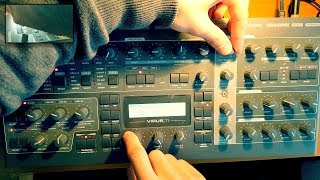 Creating an Ambient Pad with Access Virus Ti2