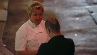 Gordon Ramsay gets kicked out of a restaurant by ANGRY owner ( Kitchen Nightmares )