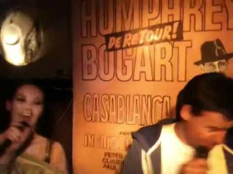 Wilfred Genee zingt 'De Vlieger' in Casablanca