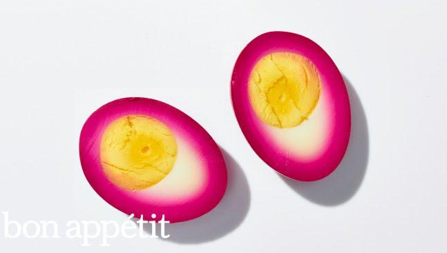 How to Make Beet-Pickled Eggs | Bon Appetit