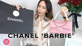 UNBOXING MY NEW BARBIE PINK CHANEL CLASSIC FLAP!!!! | AD: Contains a gifted item