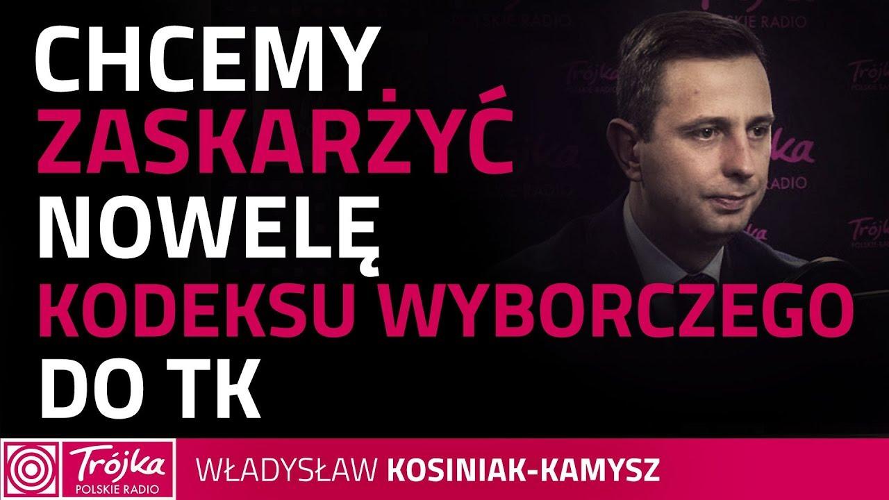 Kosiniak-Kamysz: w noweli kodeksu wyborczego są elementy niekonstytucyjne