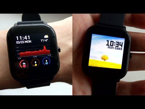 Умные часы P8 с Алиэкспресс ► Полный обзор (Amazfit GTS, Colmi, Senbono, Cobrafly)