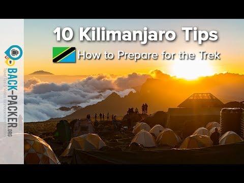 How To Prepare For Trekking Kilimanjaro - 10 Tips