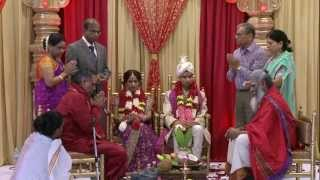 Indian Wedding Ceremony at Hindu Heritage Centre Temple  Mississauga Ontario Videography