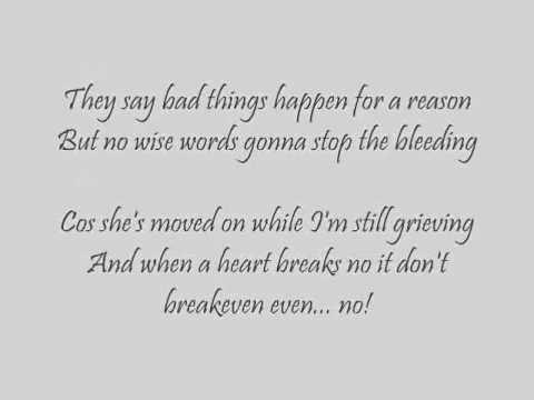 The Script -Breakeven lyrics - YouTube