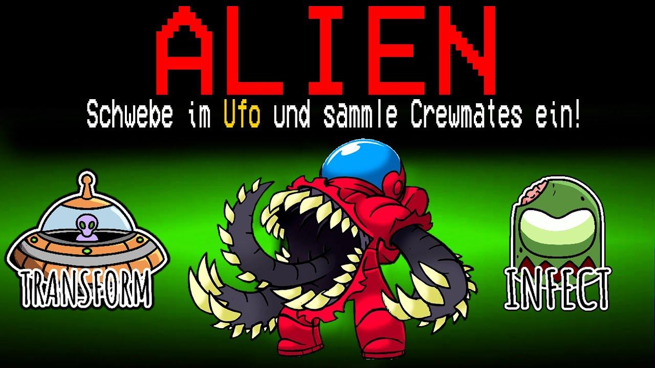 Neue ALIEN MONSTER ROLLE in Among Us!
