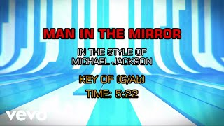 Michael Jackson - Man In The Mirror (Karaoke)