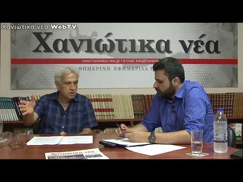 Γιάννης Φίλης - Υποψήφιος Βουλευτής Χανίων ΜέΡΑ25