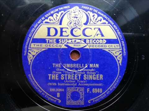 ARTHUR TRACY (THE STREET SINGER) - The Umbrella Man (UK)
