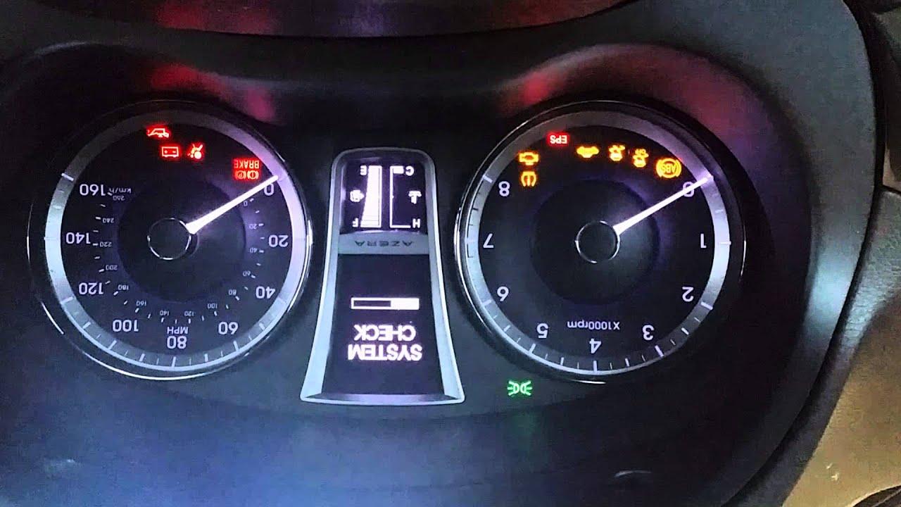 2013 Hyundai Azera Engine Start Problem Youtube