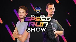 Barrière Speed Run Show : Finales Portal / Celeste / Sekiro / Minecraft