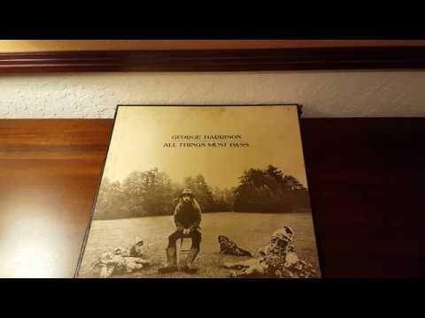 George Harrison - All Things Must Pass Triple Vinyl LP Box Set Apple Records (STCH-639)