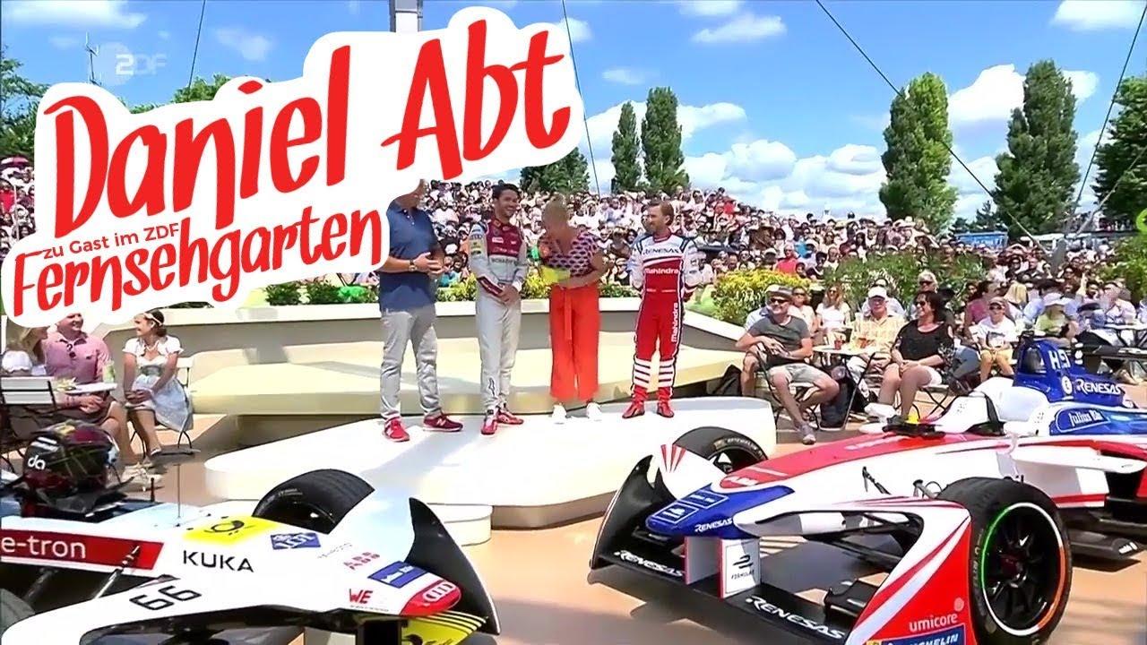 Daniel Abt im ZDF Fersehgarten - Sieger des Berlin ePrix der Formel E