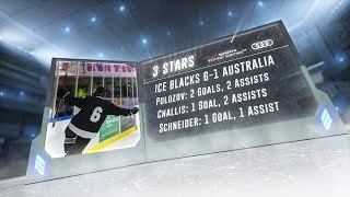 2018 Winter Games: Ice Blacks v Australia - Game 2 Highlights
