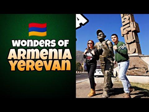 EXPLORING ARMENIA YEREVAN, 2019 DAY 1