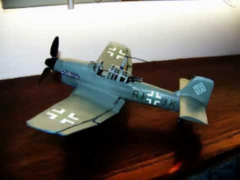 Papercraft How To Make A Cool - STUKA JUNKER 87 Paper Model Airplane