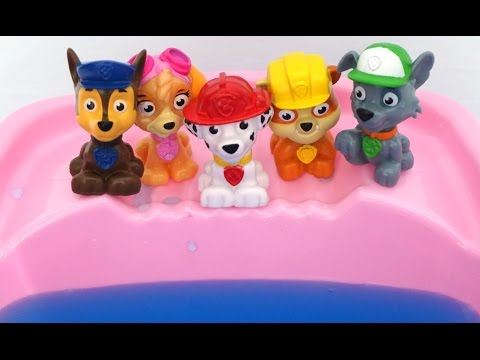 Paw Patrol Jumping on The Water Bed Songs - Top Nursery Rhymes Compilation and More