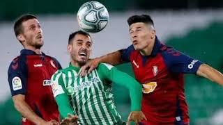 Прогноз и ставка на матч чемпионата Испании Бетис Осасуна 1 февраля 2021 года
