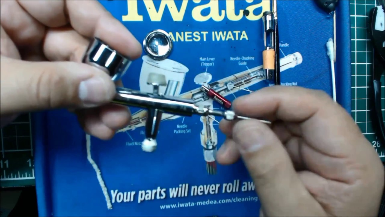 Cleaning Your Airbrush  Pt3