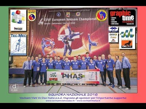 TEAM ITALY 2016 - 4th EVVF European Vovinam Championship