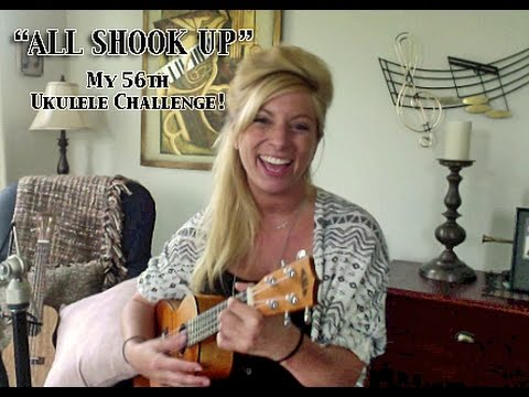 All Shook Up Acoustic Guitar Cover Elvis Presley Chords & Lyrics Sheet
