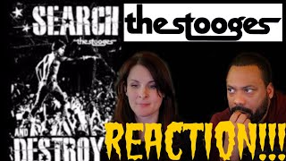 THE STOOGES Search and Destroy Reaction!!