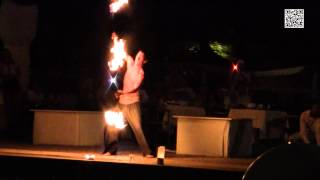White Sensation - Fire show - Hotel Beverly Playa (Majorka) [2014](, 2015-03-08T13:16:49.000Z)