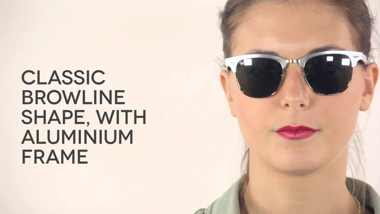 ray ban clubmaster aluminum  Ray-Ban RB3507 Clubmaster Aluminium 137/40 Sunglasses Review ...