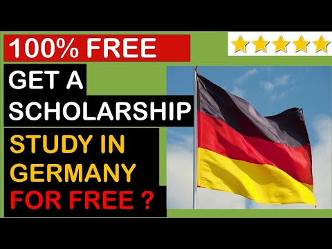 How To Get FREE Scholarship in Germany For International Students from India, Pakistan, Egypt, Nepal