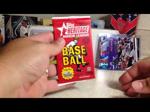 Opening the October 2017 Baseball Card Crate with 2 Decent Hits!