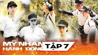 Mỹ Nhân Hành Động - Tập 7   Trương Quỳnh Anh phản pháo kịch liệt khi bị các mỹ nhân khác tố chơi xấu