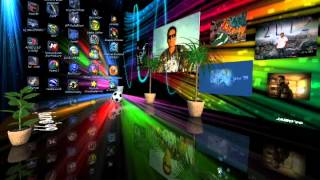 the coolest desktop theme  for windows 7,,el escritorio mas cool del mundo , by j