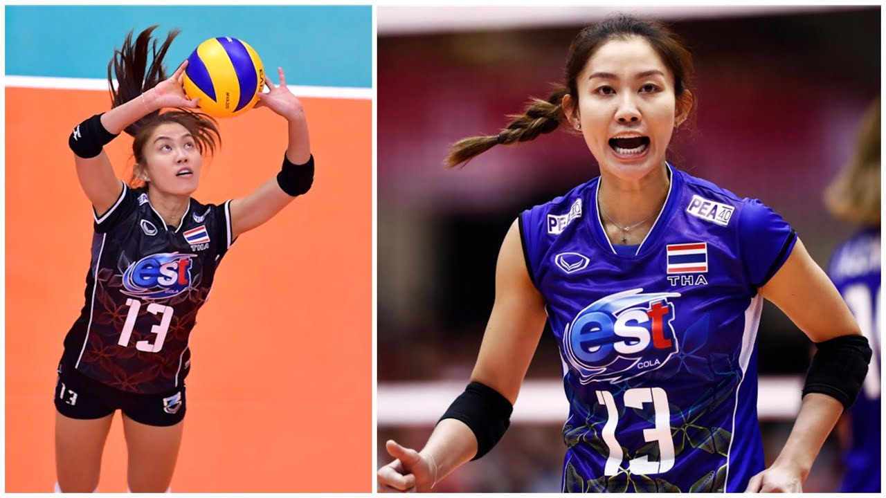 Nootsara Tomkom | Amazing Volleyball Setter | Best Actions (HD)