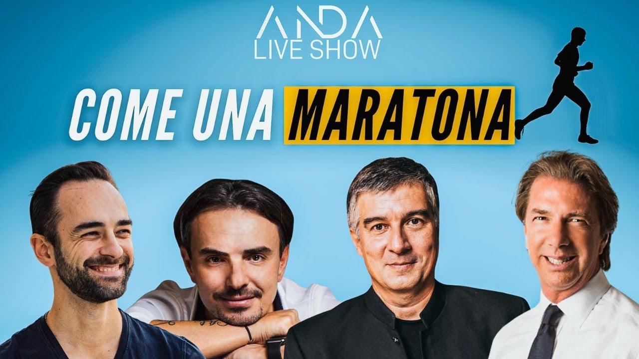ANDA Live Show: Come una maratona! con Alberto Tosi Fei e Stefano Versace
