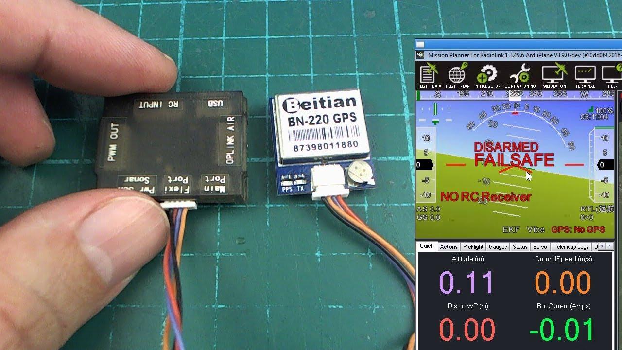 Cc3d With Gps Module Capteur Photolectrique Ublox Neo 6m Mini Revo Wiring Diagram Ardupilot On Tiny 14g Part 1 Youtube