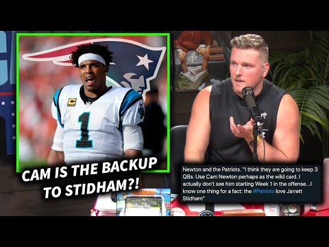 Is Cam Newton Going To Be The Backup In New England?!