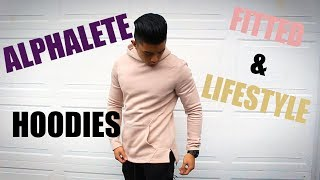 HONEST ALPHALETE LIFESTYLE & FITTED HOODIE REVIEW  (read description too) | LEG DAY