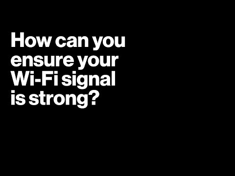 How Can You Ensure Your Wi-Fi Signal Is Strong By Verizon Fios