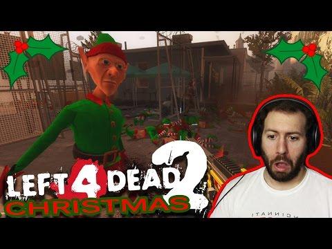 Left 4 Dead 2 Christmas Party Part 1: CRUSH THE ELF REBELLION!!!