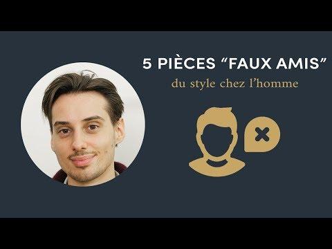 """Sape M'en Cinq #4 - 5 pièces """"faux-amis"""" du style chez l'homme"""