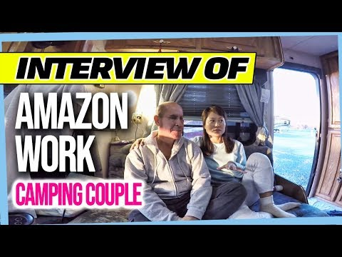 Interview Of Full Time RV Living Amazon Work Camping Couple