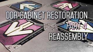 2e9e86734ac3 DDR Cabinet Restoration Part 4 - Reassembly