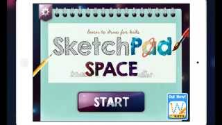 Sketchpad Space - New iPad Drawing App For Children
