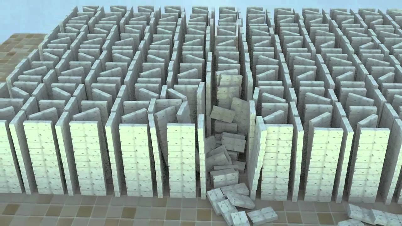 the domino effect blender physics animation