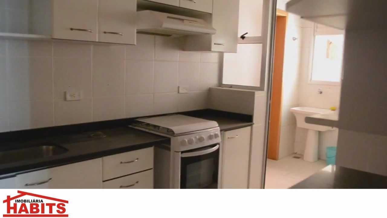Excelente apartamento mobiliado 3 dormitrios no bairro