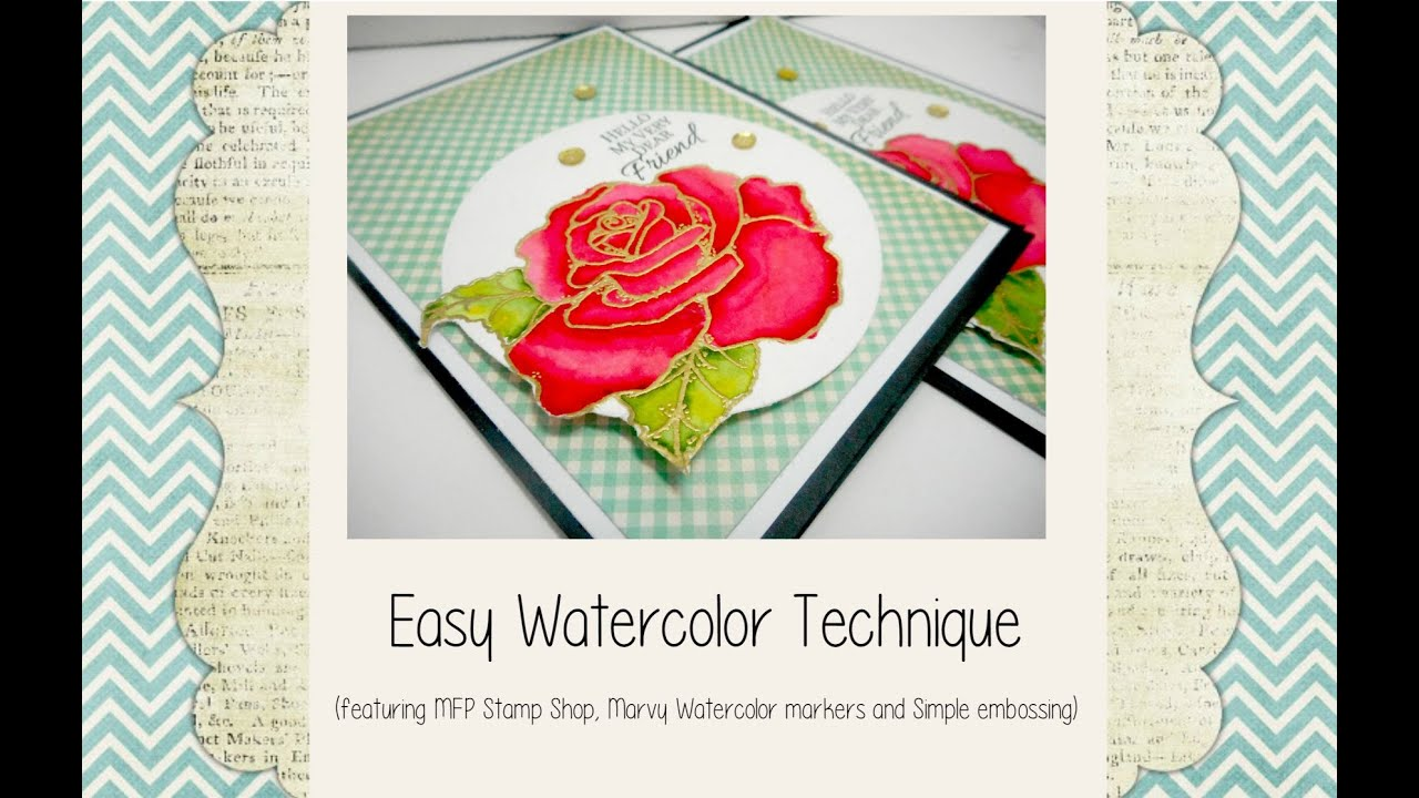 Water coloring for beginners using watercolors and for Water colouring techniques