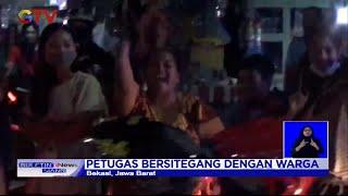 Warga Bekasi Semangati Pemudik yang Melintasi Jalan, Petugas Marah dan Bersitegang - BIS 11/05