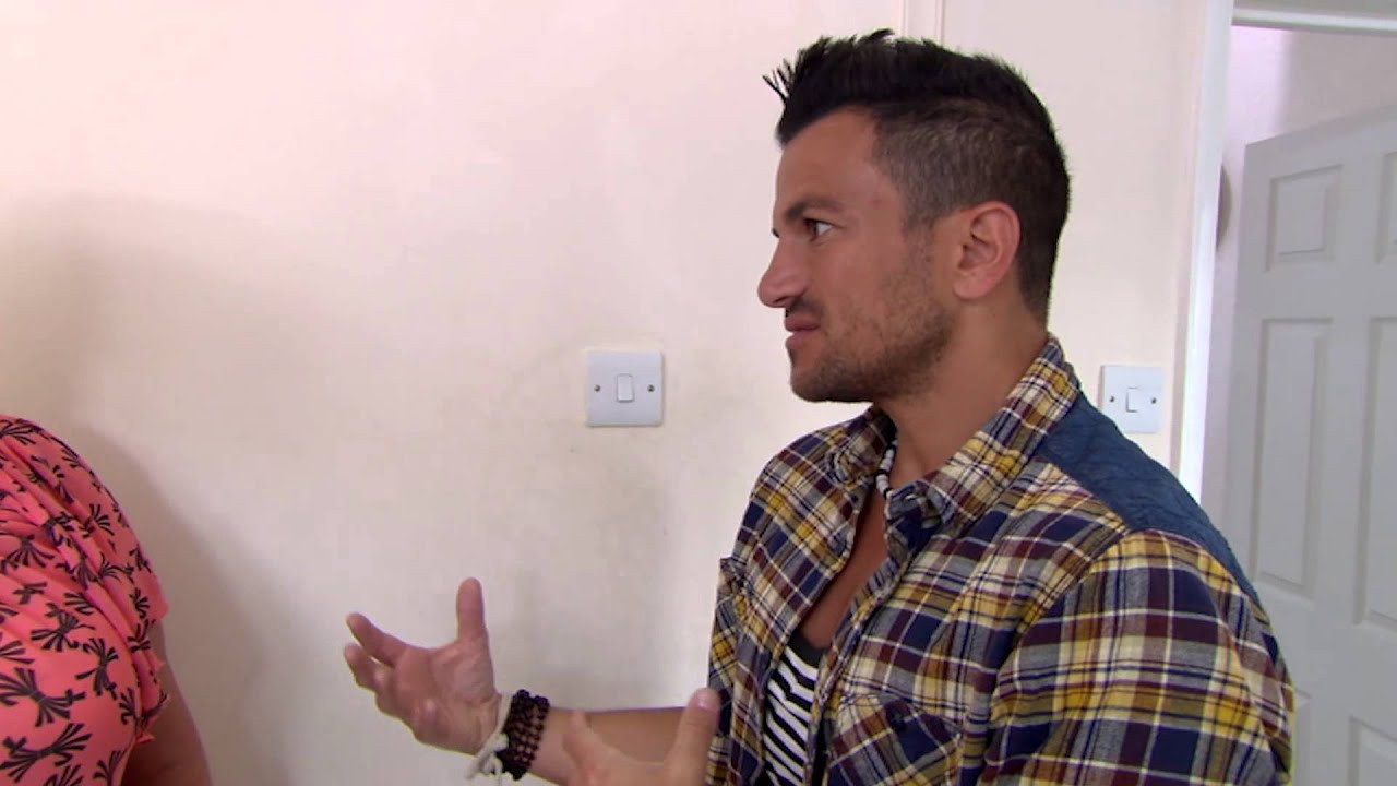 louise shows peter around steven's home - peter andre's 60 minute